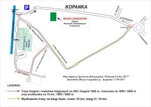 FOCH plan imprezy dla uczestników