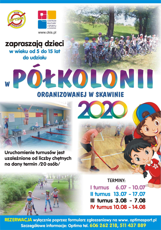 plakat polkolonia 2020